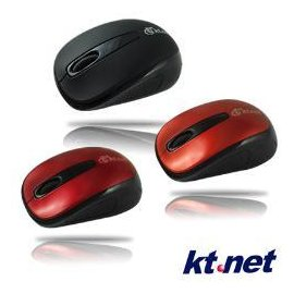 ~挑戰最 • 含稅~KT 小海鵰光學鼠 USB 紅 黑~嘉義•超頻電腦~23G04055