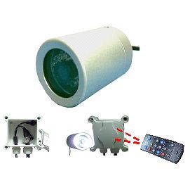 潛水型攝影機  水下20M水中攝影機  白光LED照明  1 3 SONY 高解析 CCD