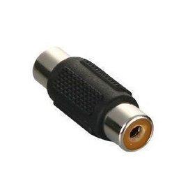 RCA AV端子 蓮花頭 母轉母 延長轉接器/轉接頭/對接頭