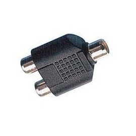 RCA AV端子 蓮花頭 1母轉2母 1分2 延長轉接器/轉接頭