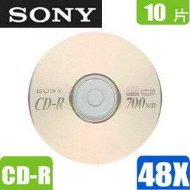 ^~10片^~SONY 48X CD~R光碟片