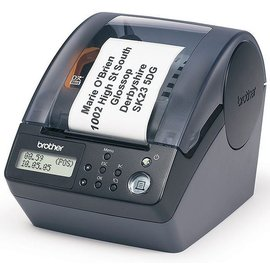 brother QL~650TD 條碼標籤機可單機  成分 服飾 營養標示 號碼機 抽號機