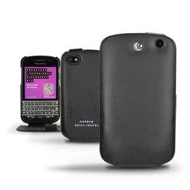 黑莓機 Blackberry Q10 手工訂製 法國NOREVE頂級手機皮套 Q10皮套 手機套 Q10保護套 真皮皮套 客製化 Q10腰掛皮套 手機保護套