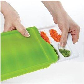 【紫貝殼】『JA16』【美國oxo】優良評價超推薦 食物冷藏盒/副食品冷存組合/冰磚  14格/22毫升