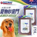 澳洲~PETWAY~PDL 大型犬用紗窗門