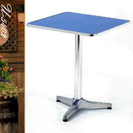 70cm鋁製防火板正方桌 P020-U-5402 (方型茶几.置物桌.洽談桌.餐桌子.休閒桌.庭園桌.傢俱家具傢具特賣會)
