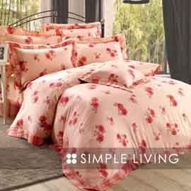 SIMPLE LIVING 系列 3036~預約浪漫~TENCEL®七件式床罩組~雙人
