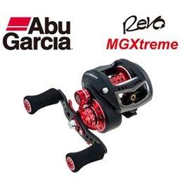 ◎百有釣具◎瑞典ABU REVO MGXtreme 小烏龜鼓式捲線器  ~重量只有139g 史上最輕捲線器