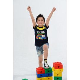 BABY KING 3159小火車圓領T恤90cm~140cm