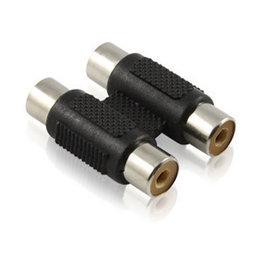 RCA AV端子 蓮花2通 2母對2母 延長轉接器/轉接頭