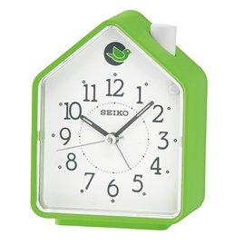 SEIKO CLOCK 精工 擇式鈴聲 兩組鳥鳴 BB聲  森林原音 綠屋 鬧鐘 :QHP