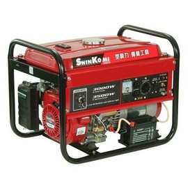 SHIN KOMI型鋼力 發電機(電啟動)SK3500E 3500WATT★風冷式單缸四衝程