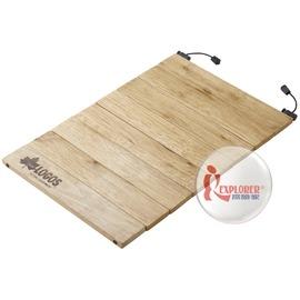 探險家戶外用品㊣NO.81285037 日本品牌LOGOS 折疊式砧板 蛋捲式-天然木沾板 (附收納袋)