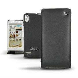 華為Huawei  Ascend P6 手工訂製  法國NOREVE頂級手機皮套  P6皮套 客製化 P6腰掛皮套  保護套 手機套  推薦