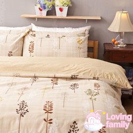 ~戀家小舖~純棉床包  雙人~夏日之森~含兩件枕套