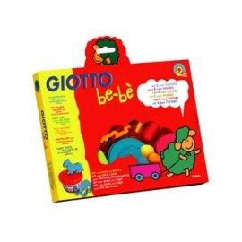【紫貝殼】『GIOTTO06』 義大利GIOTTO 寶寶黏土派對(黏土100克x3 .切刀.滾筒.印模x6) 不含染色劑,小麥麩天然成分