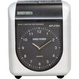 KINGS POWER KP~210A 指針式微電腦雙色打卡鐘