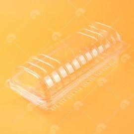 【艾佳】瑞士捲透明盒10入/包