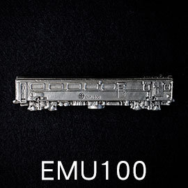 ~EMU100自強號英國阿婆~金屬火車模型文鎮~鐵道迷 辦公小物 #9997 ~ 鐵道模型
