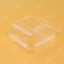 【艾佳】透明漢堡盒10入/包