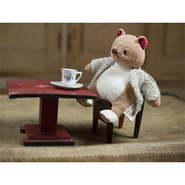 ~愛寶星球~亞洲唯一 英國Ragtales故事童書角色 Peter 彼得小熊布偶 咖啡色熊