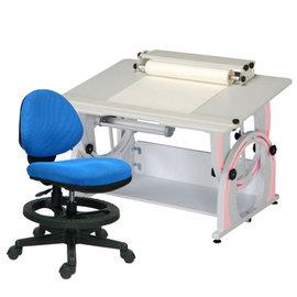 ~ 屋~兒童成長書桌椅組DF~100A 12色  免  製 櫥櫃 辦公桌椅 人體工學椅 電