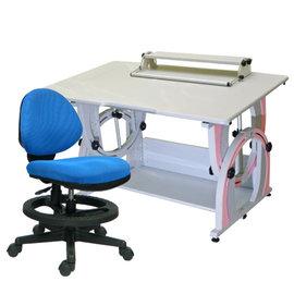 ~ 屋~兒童成長書桌椅組G~115 12色 免  製 櫥櫃 辦公桌椅 人體工學椅 電腦桌椅
