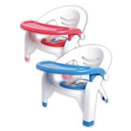 PUKU藍色企鵝 餐盤兒童椅