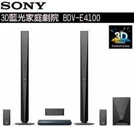 SONY 3D藍光家庭劇院 BDV-E4100