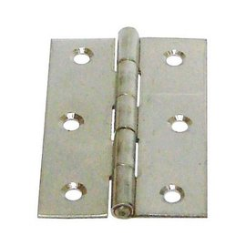 白鐵丁雙#304/鉸鍊/後鈕 2 1/2英吋1.2mm厚★一般木門適用(附螺絲釘)