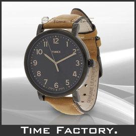 ~時間工廠~ TIMEX 天美時 美國知名品牌 INDIGLO 夜光面三針錶 T2N677