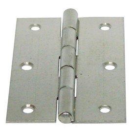白鐵丁雙/鉸鍊/後鈕 3英吋1.2mm厚★一般木門適用(附螺絲釘)