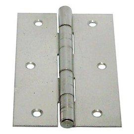 白鐵丁雙/鉸鍊/後鈕 3 1/2英吋1.2mm厚★一般木門適用(附螺絲釘)