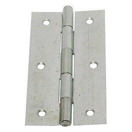 白鐵丁雙B級/鉸鍊/後鈕 3 1/2英吋★一般木門適用(附螺絲釘)