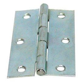 鍍光亞丁雙/鉸鍊/後鈕 2 1/2英吋★一般木門適用(附螺絲釘)