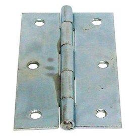 鍍光亞丁雙/鉸鍊/後鈕 3英吋★一般木門適用(附螺絲釘)