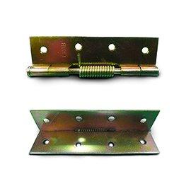 自由丁雙/鉸鍊/後鈕 4英吋1.2mm厚★一般木門適用(附螺絲釘)