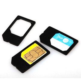 iphone4/4s  ipad 2/3  Micro SIM卡 還原卡套 (5入)  [AFO-00026]