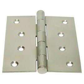 砲車 合金丁雙/鉸鍊/後鈕 4英吋1.5mm厚★一般木門適用(附螺絲釘)