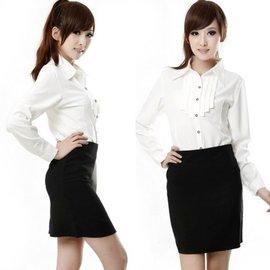 ~U200.COM~~C~107~A字西裝短裙職業裙上班族西裝裙 S~XXXXL