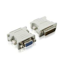 DVI公轉VGA母 24+1 DVI-I 公對母/公轉母  轉接頭/轉接器