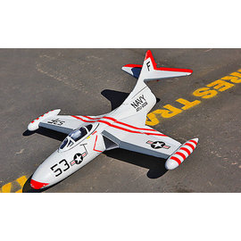 ~RCBLOG~高推力RC50 05導風扇動態平衡套裝組 漂亮塗裝好飛F~9F戰機 浮力好