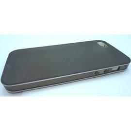 [軟殼] iphone5  外殼/手機殼/保護殼/保護套 **白邊磨砂防指紋** [ABO-00132]