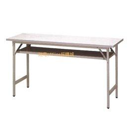 ~瑞奇office採購城~白面 直折合式會議桌6^~3尺~180^~90^~74cm 免組