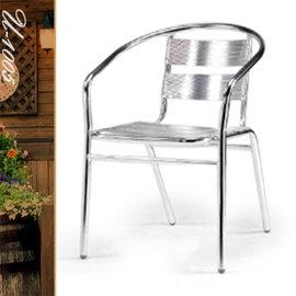 休閒鋁板椅(座3背2) P020-U-1005 (休閒椅.造型椅.咖啡椅.戶外椅.麻將椅.餐椅子.庭園椅.傢俱家具傢具特賣會)