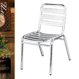 方背鋁板餐椅 P020-U-1007 (休閒椅.造型椅.咖啡椅.戶外椅.麻將椅.餐椅子.庭園椅.傢俱家具傢具特賣會)