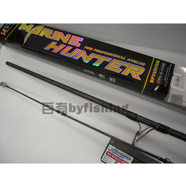 ◎百有釣具◎EVO MARINE HUNTER OWN 岸拋鐵板路亞竿60-140g EMN-S-1002
