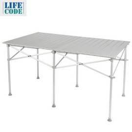 <table border=0 width=300><tr><td width=70><b>商品名稱</b>:</td><td>【LIFECODE】長型鋁合金蛋捲桌/折疊桌124x70cm (附收納袋) </td></tr><tr><td width=70><b>商品類別</b>:</td><td>休閒用品館</td></tr><td width=70><b>商品編號</b>:</td><td>LC555</td></tr><tr><td><b>瀏覽次數</b>:</td><td>2091</td></tr><tr><td><b>商品簡介</b>:</td><td>加長款鋁合金蛋捲桌,全鋁合金製不生鏽,桌面耐熱,附收納揹袋輕巧好攜帶,新結構穩定不搖晃,承重佳,擺攤、露營、烤肉都適用</td></tr></table>