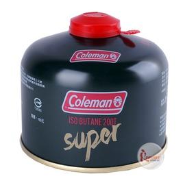 探險家戶外用品㊣CM-K200美國Coleman 高效能極地瓦斯罐230G 高壓罐 高山瓦斯瓶異丁烷寒帶專用