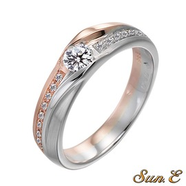 愛的夢想鑽石女戒主鑽20分.八心八箭.求婚.訂婚.結婚.情人節~千億珠寶銀樓~